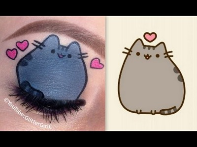 Pusheen the cat Makeup Tutorial