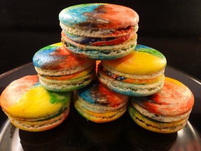 Rainbow French Macarons - with yoyomax12