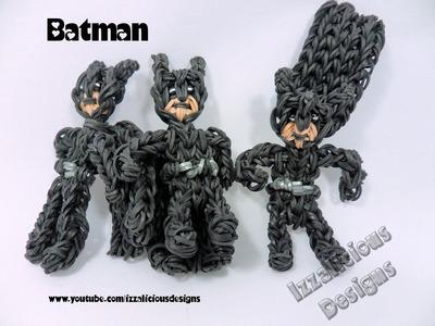 Rainbow Loom Batman Superhero Action Figure Tutorial