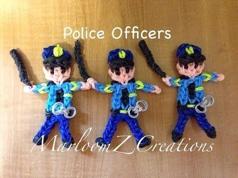 Rainbow Loom Police Officer: How To