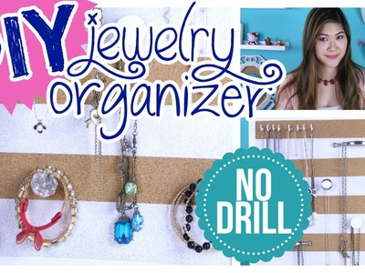 Room Organization: DIY Jewelry Organizer for Hanging Necklaces and Bracelets | DecorateYou