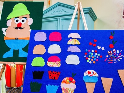 Tanya Memme's DIY Felt Board for Kids