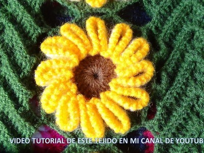Tejido en crochet : video 4, los acabados , final