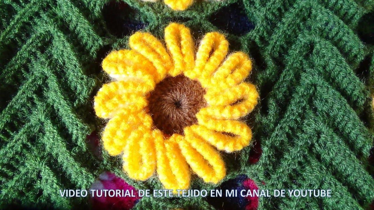 Tejido en crochet : video 4, los acabados , final
