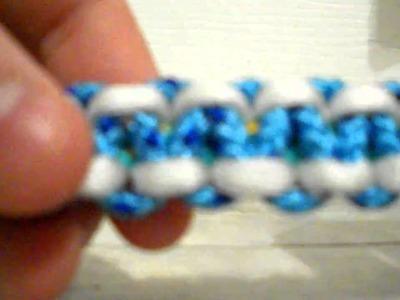Tri-Color Para-Cord Survival Bracelet