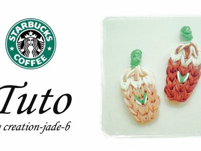 Tuto Rainbow Loom - Starbucks Coffee !