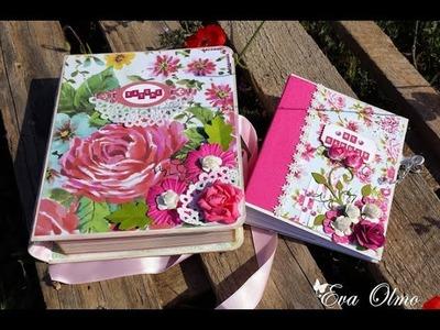 Tutorial álbum con caja, parte 2.2. Album in box tutorial, part 2.2