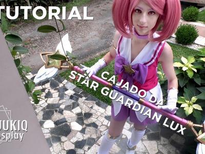 Tutorial: arma do cosplay da Star Guardian Lux (League of Legends)
