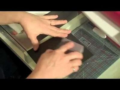 Using Cuttlebug.Sizzix embossing folders in a Grand Caliber