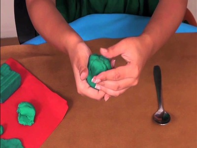 11 - Play Doh FUN | Learn How to make an Alien | Easy DIY Play Doh Tutorial