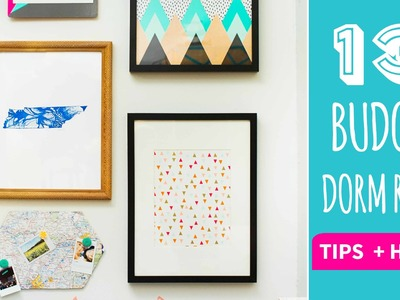 13 Tips and Hacks for Dorm Decor on a Budget - HGTV Handmade