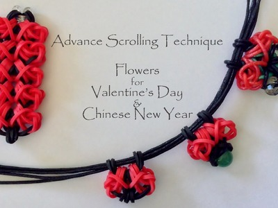 Advanced Scrolling Technique - Flowers for Valentine's Day & Chinese New Year