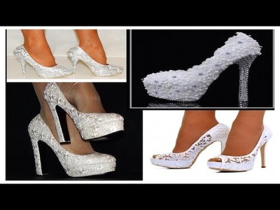 APRENDE A DECORAR TUS ZAPATOS PARA SU BODA (VIDEO TUTORIAL)