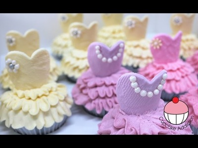 Ballerina Cupcakes - Make Ballet Tutu Cupcakes with Cupcake Addiction