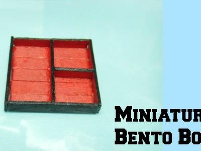 Bento Box Tutorial (Miniature)