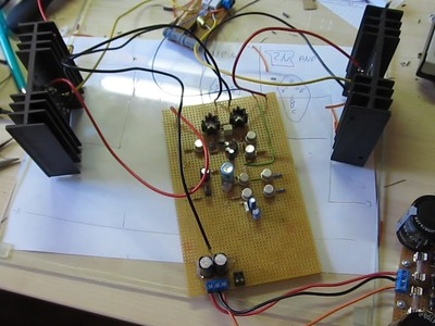 Building a DIY Audio Power Amplifier