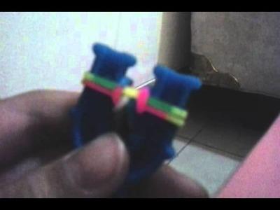 Cara membuat fishtail rainbow loom