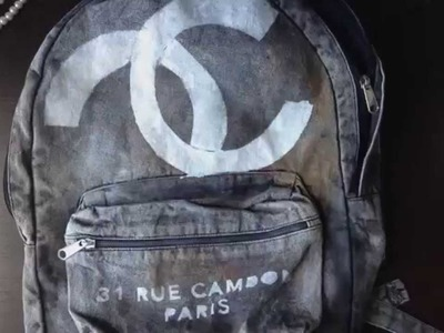 Chanel 2014 Inspired Backpack DIY | 5feet 6inches