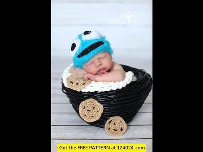Crochet baby cowboy hat pattern free