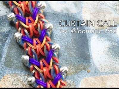 CURTAIN CALL Hook Only bracelet tutorial