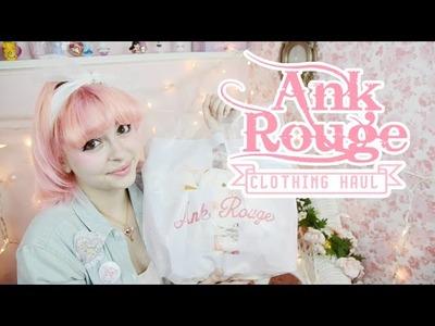 ♡ Cute Pastel Fashion | Ank Rouge HAUL! ♡