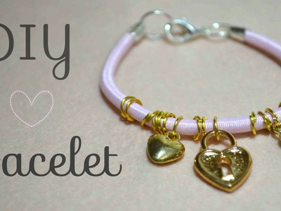 DIY Bracelet : from hair bands to bracelets