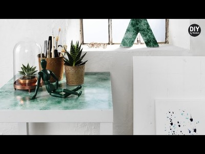 DIY by Panduro: Home Deco by Me, Spray a marble effect