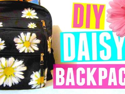 DIY Daisy Backpack | Back to School DIY 2015