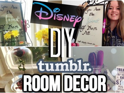 DIY Disney ROOM DECOR | Tumblr Pinterst Inspierd! (Gabriel Marie Model Entry)