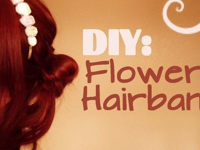 DIY: Flower Hairband