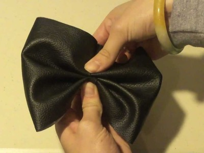DIY: Hair Bows (American Apparel Bow Dupe)