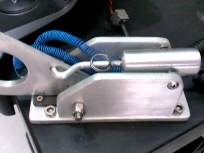 DIY - Hand Brake - Rally Style - Logitec G27 - 100% Handcrafted Aluminum