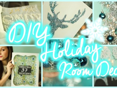 DIY Holiday Room Decor ♡ & Easy Ways to Decorate Your Room!