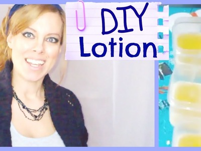 DIY How to Make Easy Lotion at Home for Dry Skin