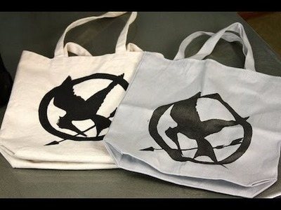 DIY: Hunger Games DIY Tote | ShowMeCute