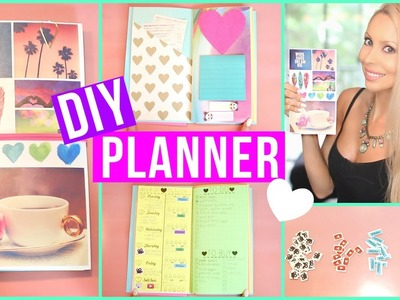 DIY Planner ♡ Cover, Inserts, Stickers + More!