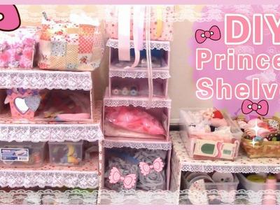 DIY Room Decor | Make Your Own Princess Shelves(Easy)