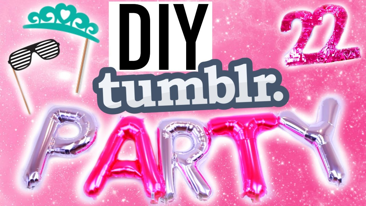 DIY Tumblr! Summer Birthday Treats, Decor +More!