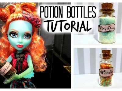 Doll Potion Bottles Tutorial
