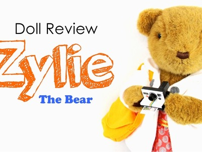 Doll Review: Zylie the Bear | Plus How to Make a Doll Polaroid Camera - Doll Crafts