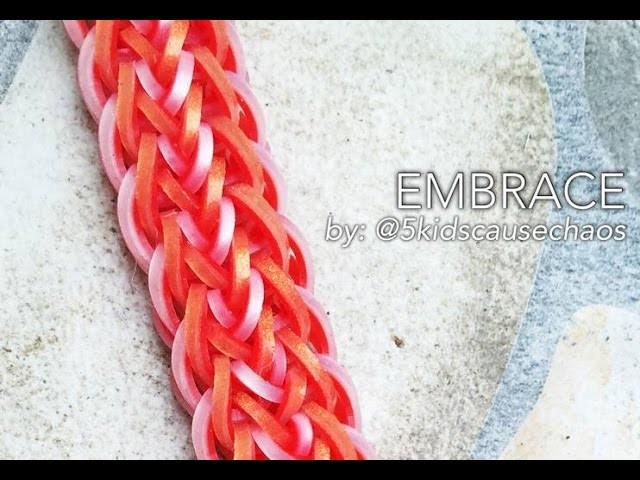 EMBRACE Hook Only bracelet tutorial