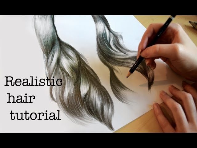Emily's Tutorials: How to draw realistic hair!