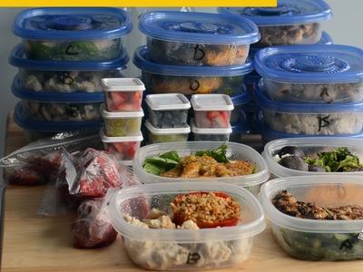 Epic Bodybuilding Meal Prep (Gran Prep de Comidas para Culturistas)