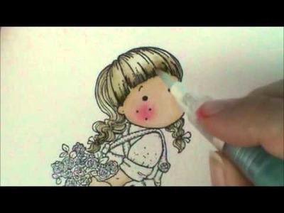 Episode #2 Secretive Tilda Water Coloring: Hair