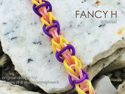 FANCY H Hook Only bracelet tutorial