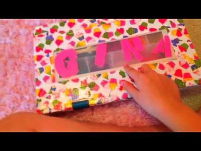 First vid. rainbow loom box