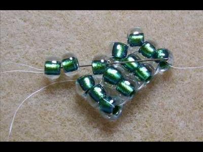 Flat Herringbone Stitch - Bead Weaving