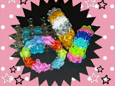"""Fraggle Rock"" Rainbow Loom Bracelet.How to tutorial"