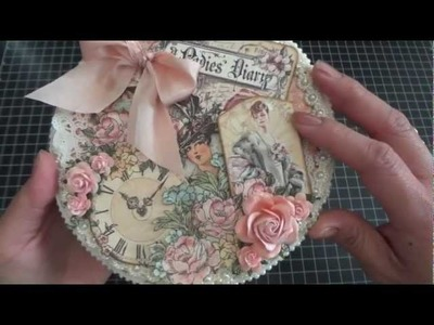 Graphic 45: A Ladies' Diary Metal Film Canister with Album