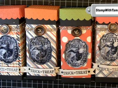 Halloween Toxic Treat Window Gift Boxes